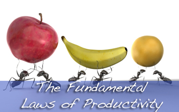 The Fundamental Laws of Productivity