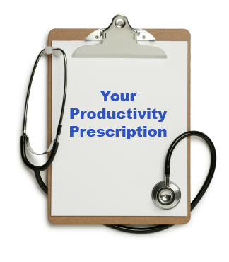 Your Productivity Prescription